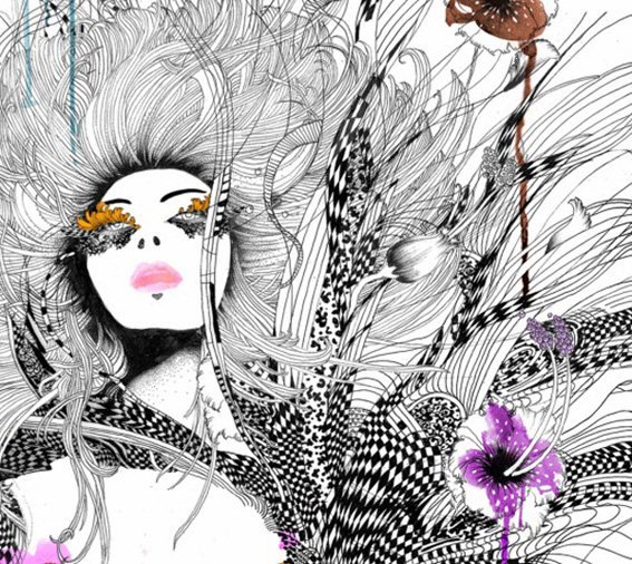 these fashion illustrations are amazing