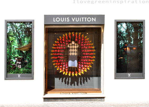 100% creativity for Louis Vuitton shop windows