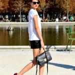 CPE/Miranda Kerr walking Paris