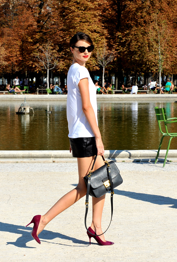 CPE/Miranda Kerr walking Paris
