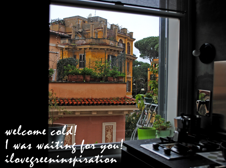 welcome cold_a window in Rome