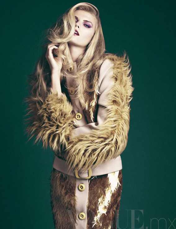 ilovegreeninsp_Maryna Linchuk by David Roemer for Vogue Mexico November 2011
