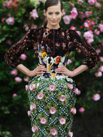 ilovegreeninspiratin_Mary Katrantzou Jewel Tree Dress