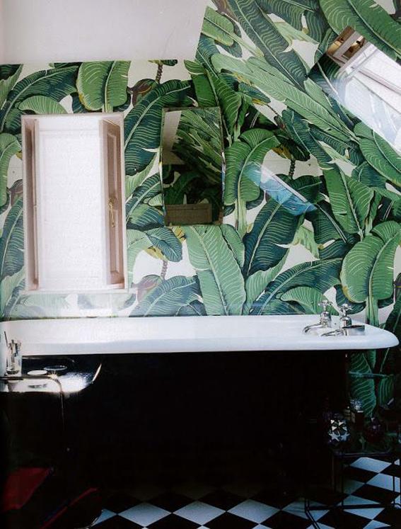 Green Inspiration 132 Jungle Bathroom I Love Green