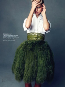 ilovegreeninspiration_feather_skirt_outfit_1