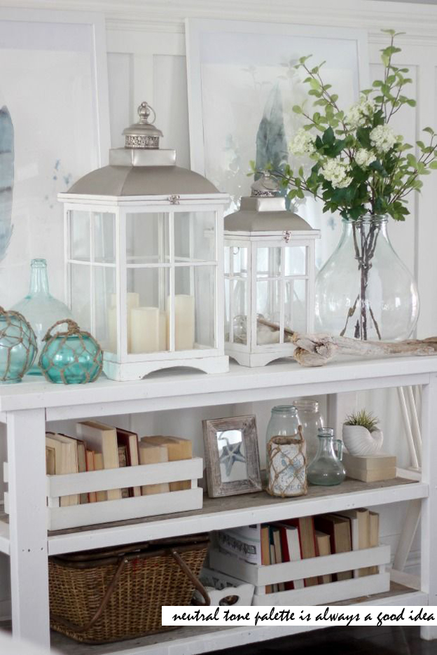Hutch Decorating Ideas Display Shelves