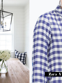 ilovegreeninspiration_vichy_print_shirt&interior