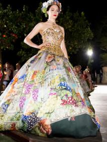 Dolce & Gabbana haute couture in Portofino