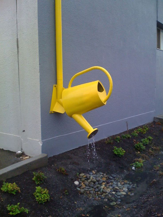 Rain gutters how to choose it with care creative rain gutters end solutioingenieria Gallery