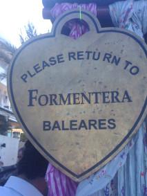 Please return to Formentera