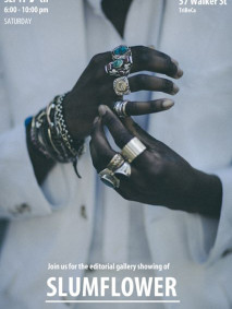 fashion editorial with men's jewelry