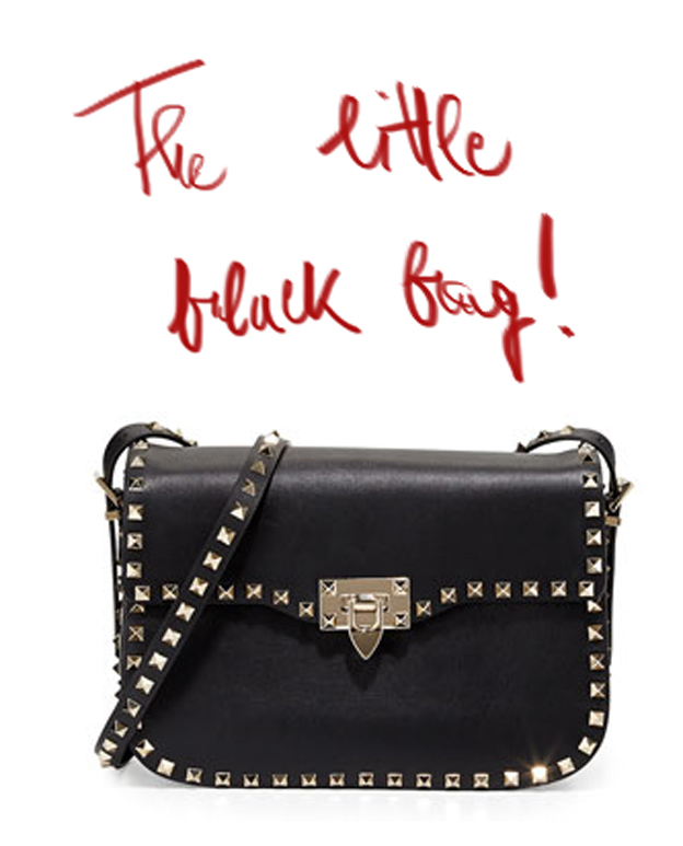 Little black bag, impossible to resist