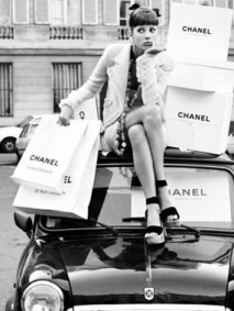chanel shoppig bags