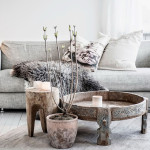 come decorare un interno in inverno
