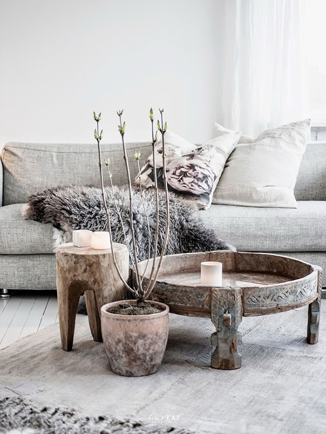 How to decor an interior in winter