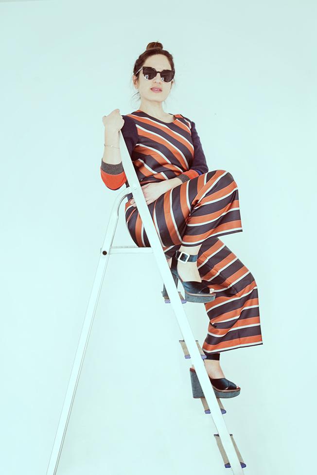 fotografia di moda con jucca jumpsuit