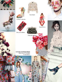 the floral trend