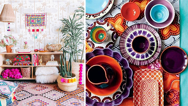 Gipsy style interior