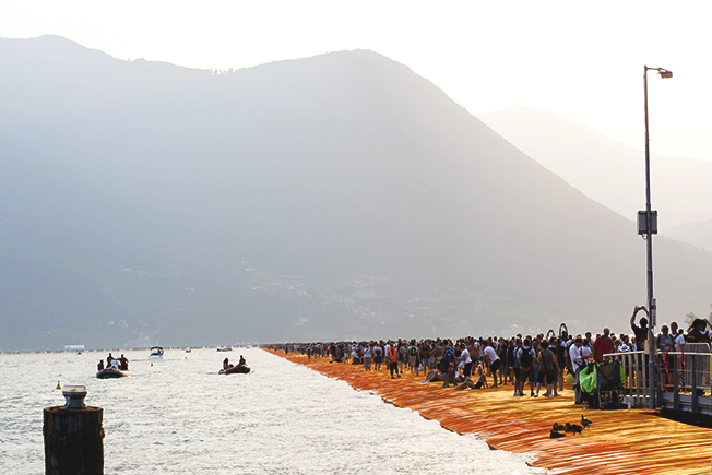 Floating Piers lago d'iseo