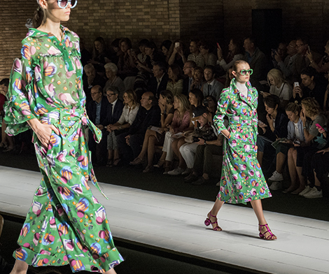 Laura Biagiotti SS 17: the green attitude