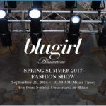 SAVE THE DATE BLUGIRL SS17