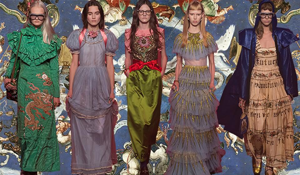 MFW SS 17 Gucci, Blugirl, Alberta Ferretti il romanticismo strong