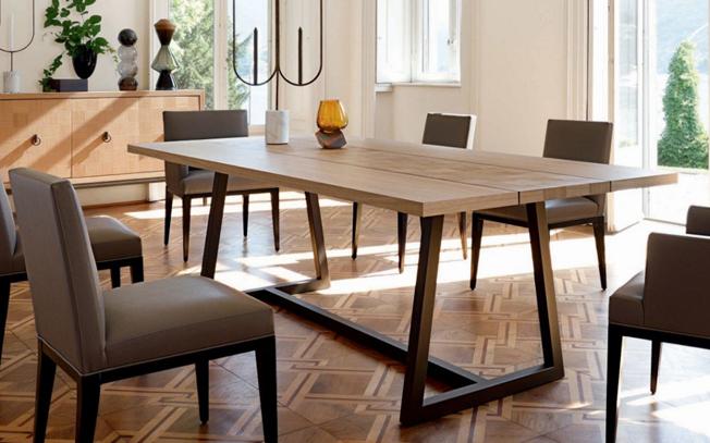 Come scegliere il tavolo da pranzo proporzioni perfette e - Tavoli design famosi ...