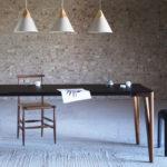 come scegliere il tavolo da pranzo, tavoli design, tavoli proporzioni perfette, tavoli rettangolari, tavoli rotondi, consigli per arredare sala da pranzo