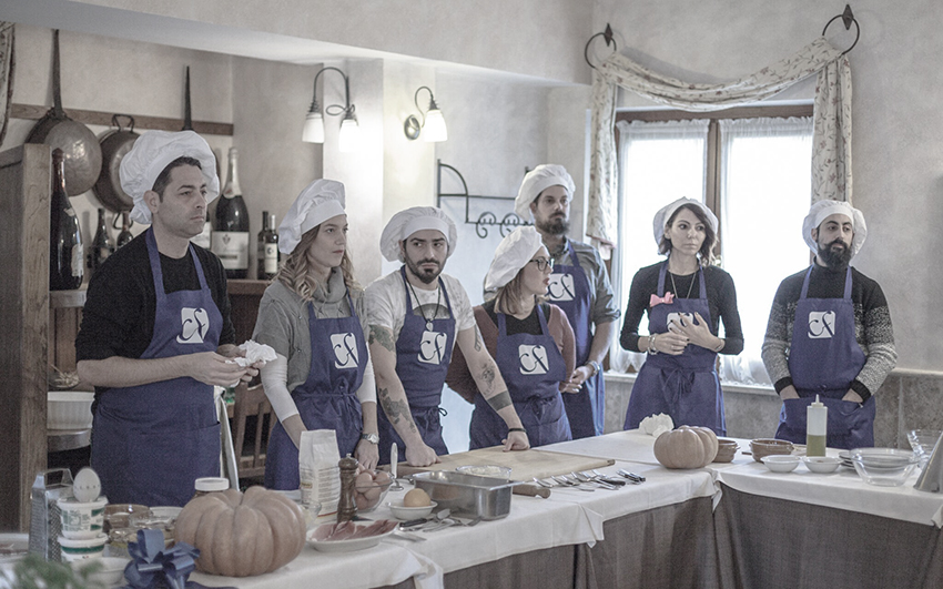 team cooking, formazione aziendale, cieffe consulting