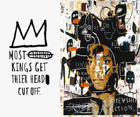 Exhibition Basquiat at Mudec in Milan. His art is his life
