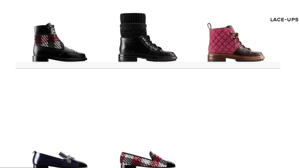 Prima boutique scarpe Chanel, collezione chanel inverno 2016, buotique chanel hawaii