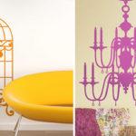 Adesivi decorativi, design, interni alla moda, idee per interni case, architetto arredo casa, idee decor, come decorare casa