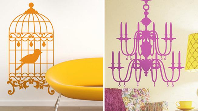 Adesivi decorativi: la personalizzazione va di moda anche per gli interni