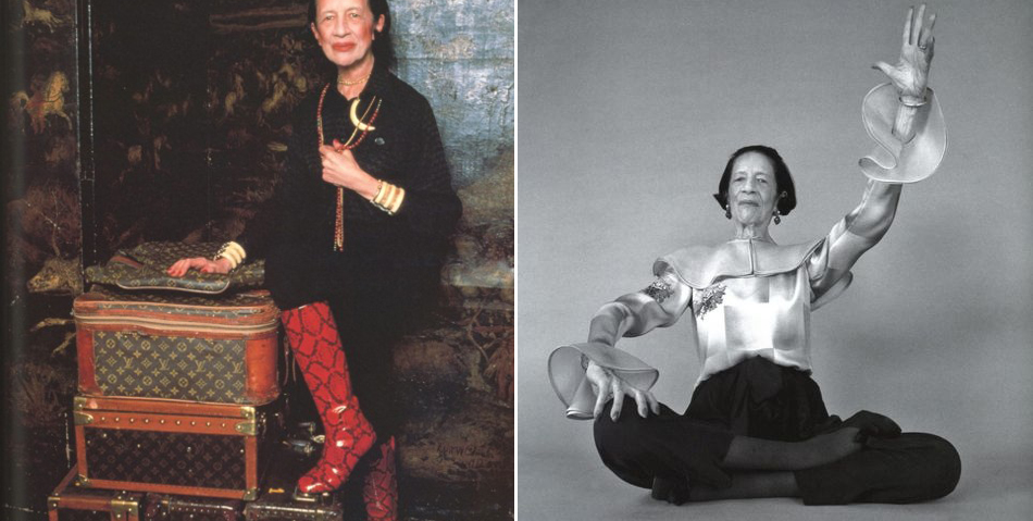 Why don't you, perché non, diane vreeland su harper bazaar