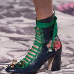 scarpe floreali da Gucci