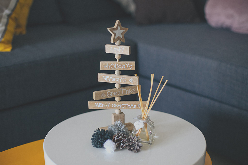 Decorazioni DIY Natale 2016, come decorare casa a Natale, home décor for Christmas, idee per decorare casa a Natale