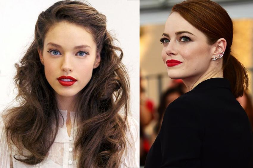 come scegliere il rossetto rosso, consigli di bellezza. makeup per capodanno, labbra rosse