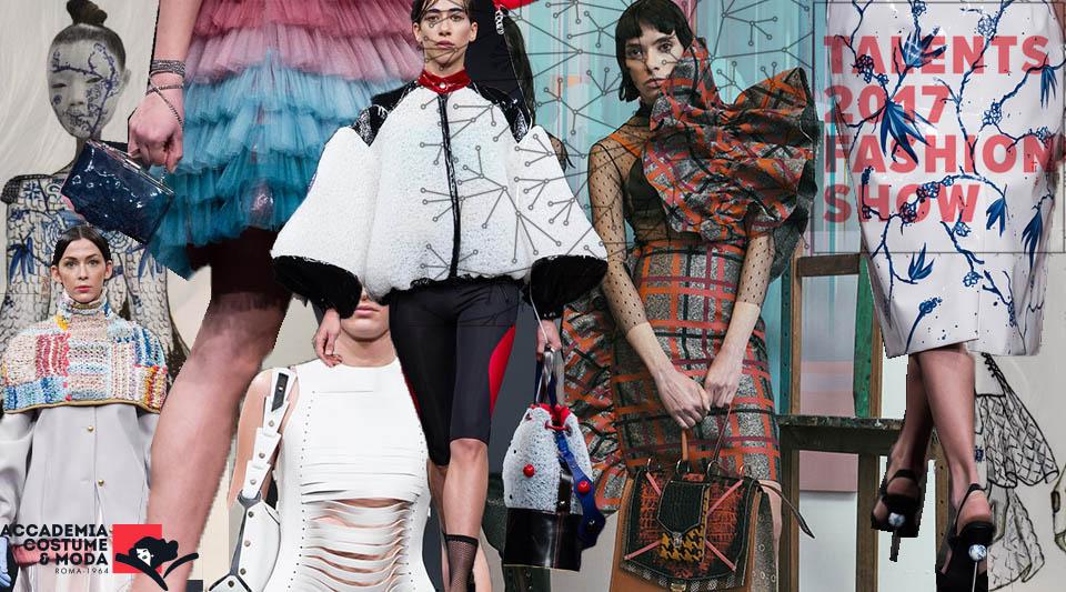 Sfilano i talents 2017 dell'Accademia costume e moda. Ed è subito futuro