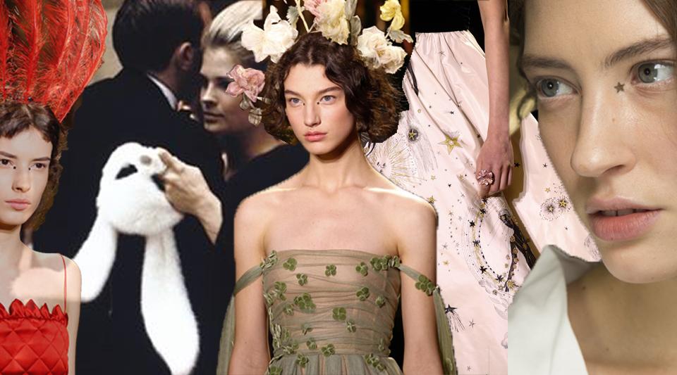 Dior altamoda primavera 2017: sogno, favola, rifugio nella natura