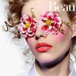acconciature floreali, flora headband