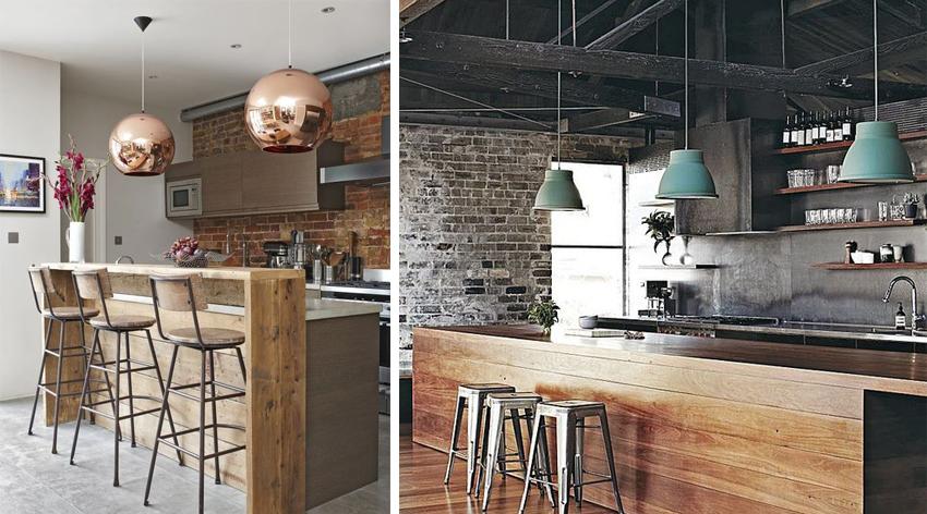 materiali caldi, come progettare una cucina