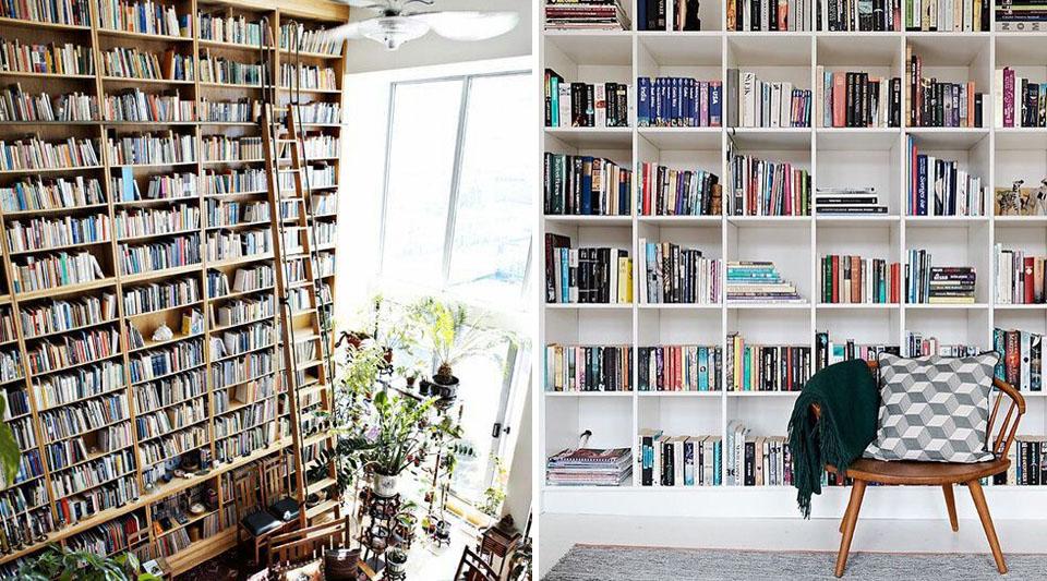 Arredare con i libri. Personalizzare con il caos creativo
