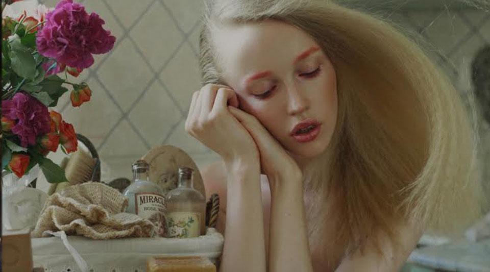 Make-up romantico, romantico editorial, fashion photogrhaphy