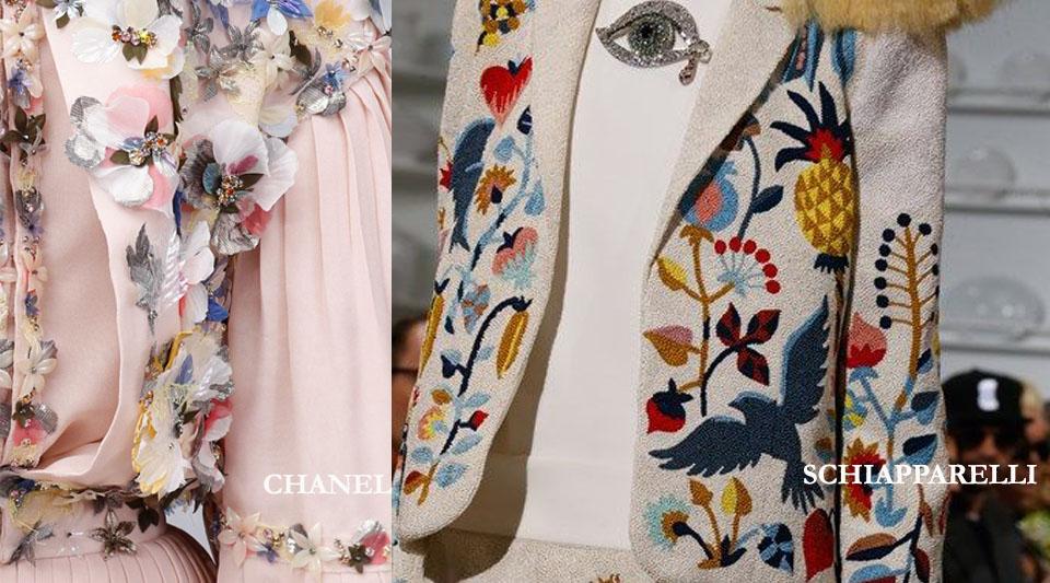 marinella rauso, ilovegreeninspiration.com, Floral trend, chanel primavera \ estate 2016, elsa schiapparelli flora suit