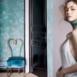 green in fashion and interiors