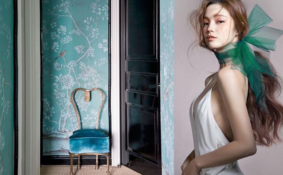 Green inspiration 189. Green in fashion and interiors