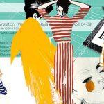 Illustrazione di moda era digitale, fashion illustration, illustrazione di moda, wacom, marinella rauso, salone del mobile 2017, design week 2017, marinella rauso, ilovegreeninspiration