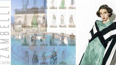 Moda Capri: anche Alberto Zambelli sceglie l'isola per una mostra unica del suo lavoro