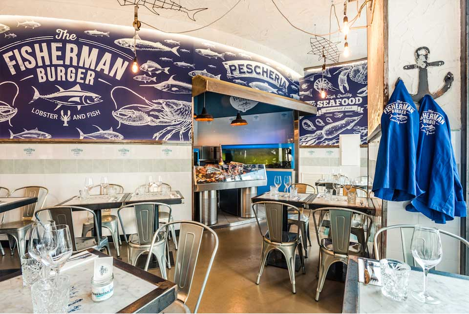 The Fisherman Burger Roma: la tradizione pugliese, il fascino autentico del New England e il cibo di strada che diventa gourmet. Tutto al centro di Roma