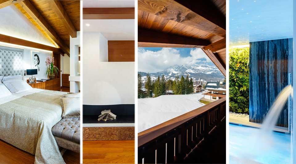 Luxury Cortina: gli chalet nel Borgo LV. Dove la vacanza diventa esperienza totalizzante